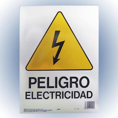 Mucho Material Letrero Quot Peligro Electricidad Quot 25x36 Cm