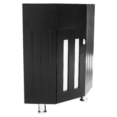 Gabinete para lavabo esquinero mdf tabaco 2 en for Gabinete para lavabo