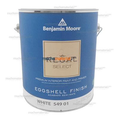 Mucho material pintura blanca regal select vin int - Benjamin moore regal select exterior ...