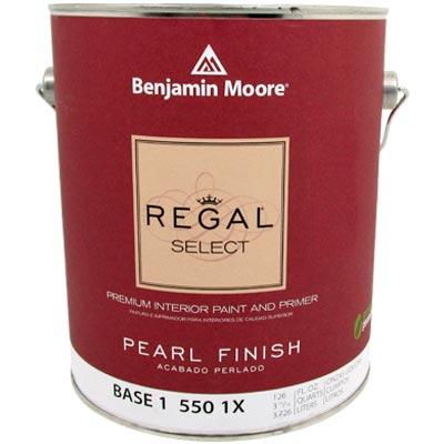 Mucho material pintura base 1 regal select vin int - Benjamin moore regal select exterior ...