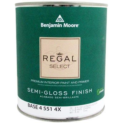 Mucho material pintura base 4 1 lto regal select vin - Benjamin moore regal select exterior ...