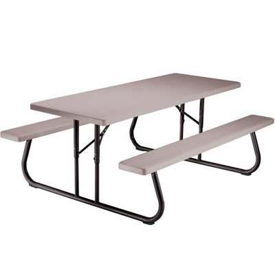 Mucho material mesa rectangular dia de campo 6ft lifetime - Mesa de campo ...