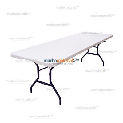 Mucho material mesa rectangular lifetime for Mesa para 10 personas